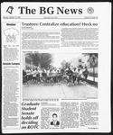 The BG News October 12, 1992