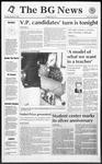 The BG News October 13, 1992