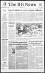 The BG News October 14, 1992
