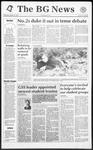 The BG News October 14, 1992