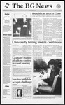 The BG News October 15, 1992