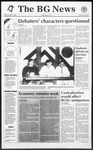 The BG News October 16, 1992