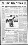 The BG News October 20, 1992