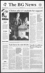 The BG News October 30, 1992
