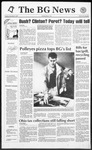 The BG News November 3, 1992