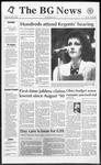 The BG News November 6, 1992