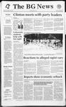 The BG News November 20, 1992
