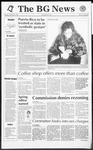 The BG News December 3, 1992