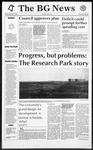 The BG News December 4, 1992