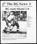 The BG News December 7, 1992
