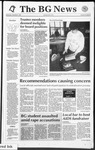 The BG News December 9, 1992