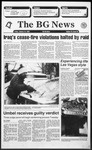 The BG News January 15, 1993