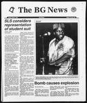 The BG News March 1, 1993