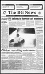 The BG News March 18, 1993
