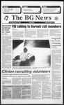 The BG News March 18, 1993