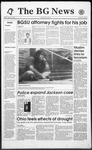 The BG News August 27, 1993