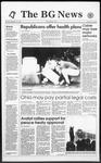 The BG News September 16, 1993