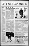 The BG News October 7, 1993
