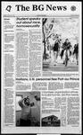 The BG News October 18, 1993