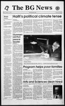 The BG News October 22, 1993