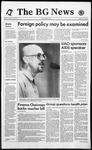 The BG News October 25, 1993