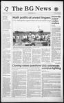 The BG News October 26, 1993