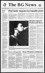 The BG News November 2, 1993