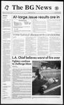 The BG News November 4, 1993