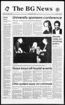 The BG News November 8, 1993