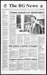 The BG News November 11, 1993