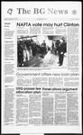 The BG News November 16, 1993