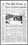 The BG News November 17, 1993