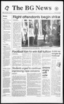 The BG News November 19, 1993