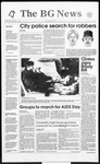 The BG News December 1, 1993