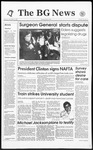 The BG News December 9, 1993