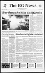 The BG News January 18, 1994