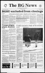 The BG News January 20, 1994