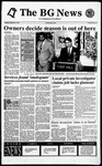 The BG News September 15, 1994