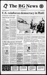 The BG News September 20, 1994