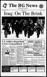 The BG News October 11, 1994