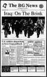 The BG News October 11, 1994