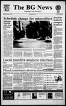 The BG News January 11, 1995
