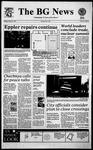 The BG News January 12, 1995