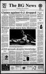 The BG News January 13, 1995
