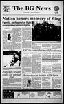 The BG News January 17, 1995