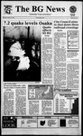 The BG News January 18, 1995