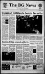 The BG News January 23, 1995