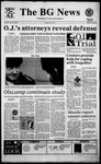 The BG News January 26, 1995