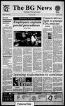 The BG News January 30, 1995