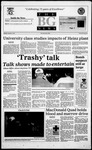 The BG News October 9, 1995